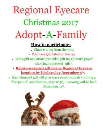 Adopt A Family 2017, Optometrist, O'Fallon, MO